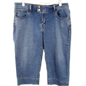 5/$25 Bundles Levi's 515 Size 12 Crop Capri Jean